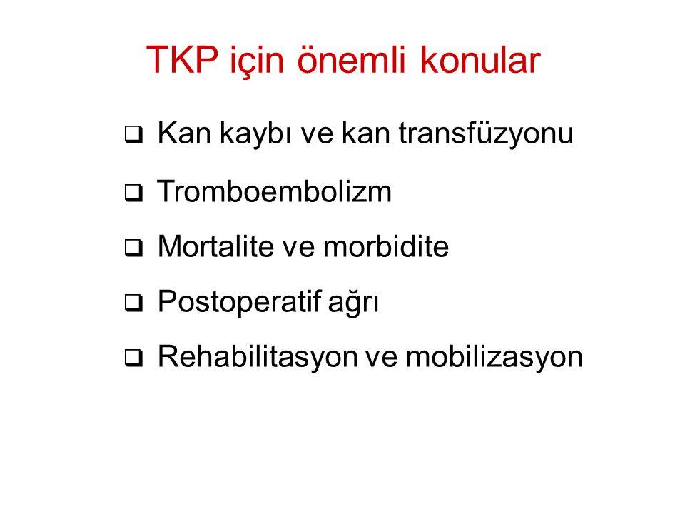 TKP için önemli konular