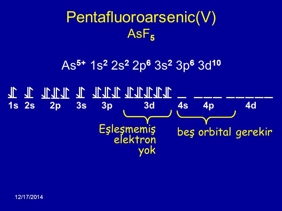 Pentafluoroarsenic(V) AsF5