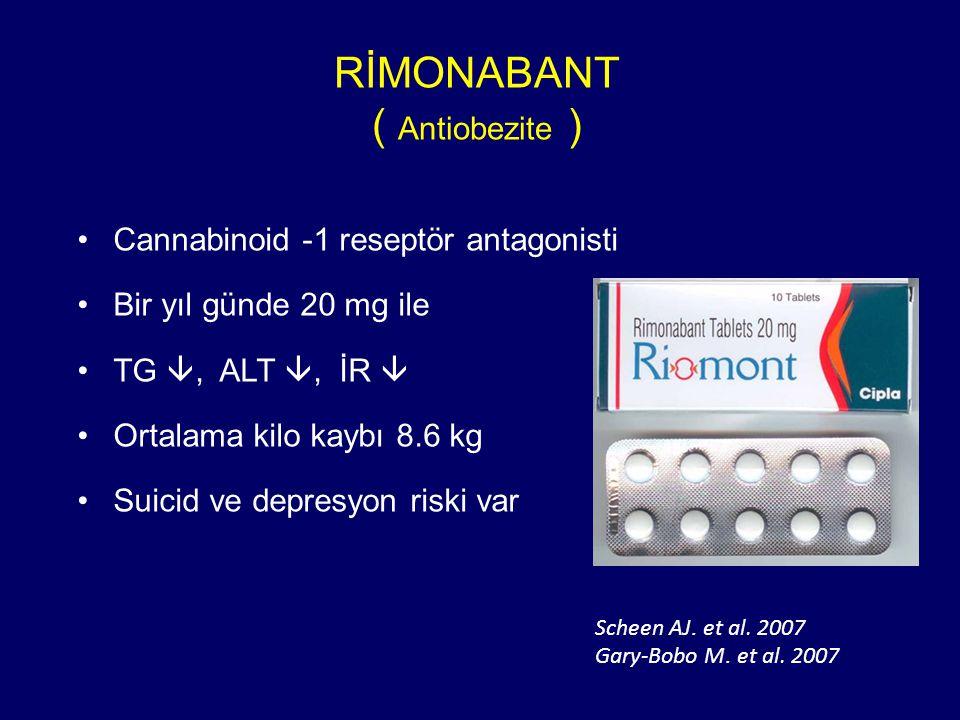 RİMONABANT ( Antiobezite )