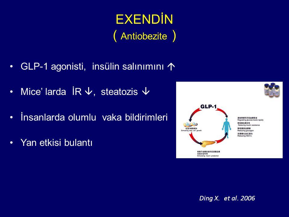 EXENDİN ( Antiobezite )