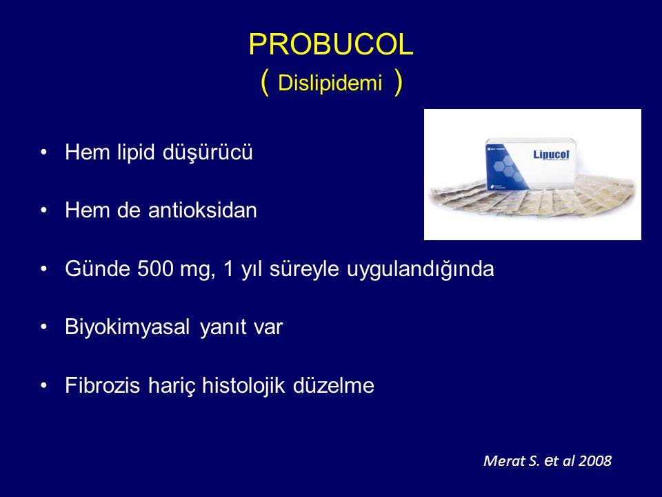 PROBUCOL ( Dislipidemi )