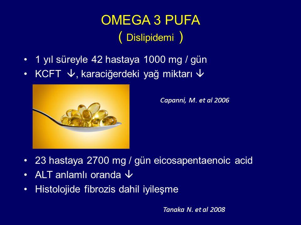 OMEGA 3 PUFA ( Dislipidemi )