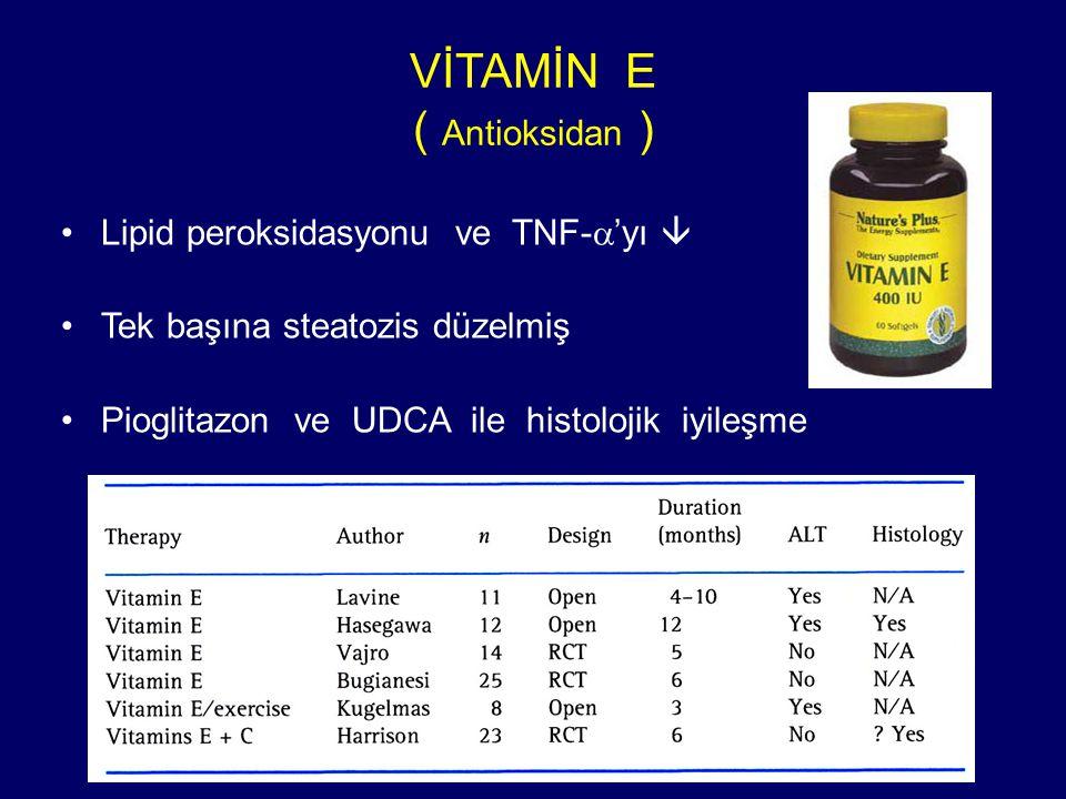 VİTAMİN E ( Antioksidan )