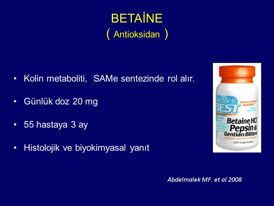 BETAİNE ( Antioksidan )