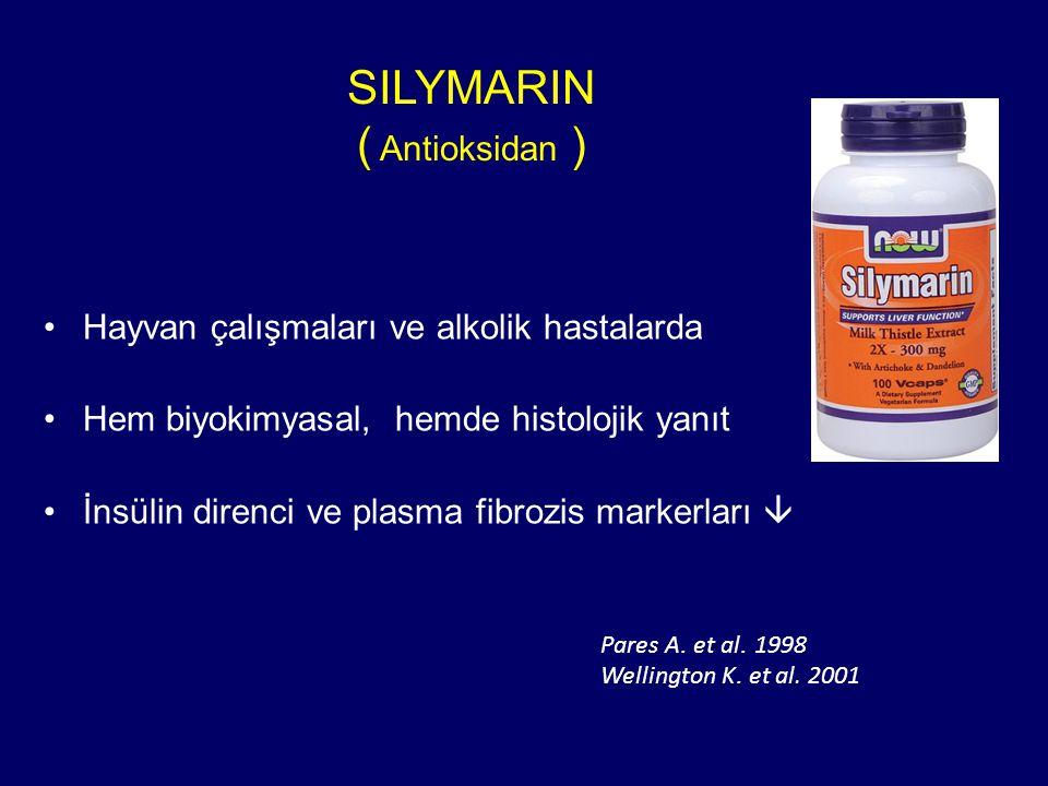 SILYMARIN ( Antioksidan )