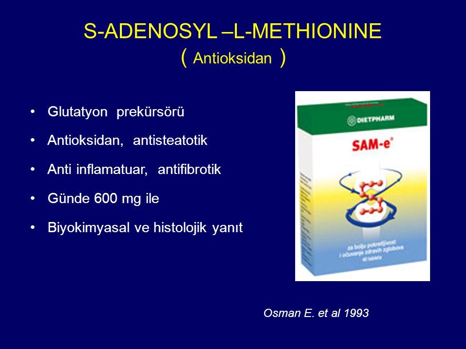 S-ADENOSYL –L-METHIONINE ( Antioksidan )