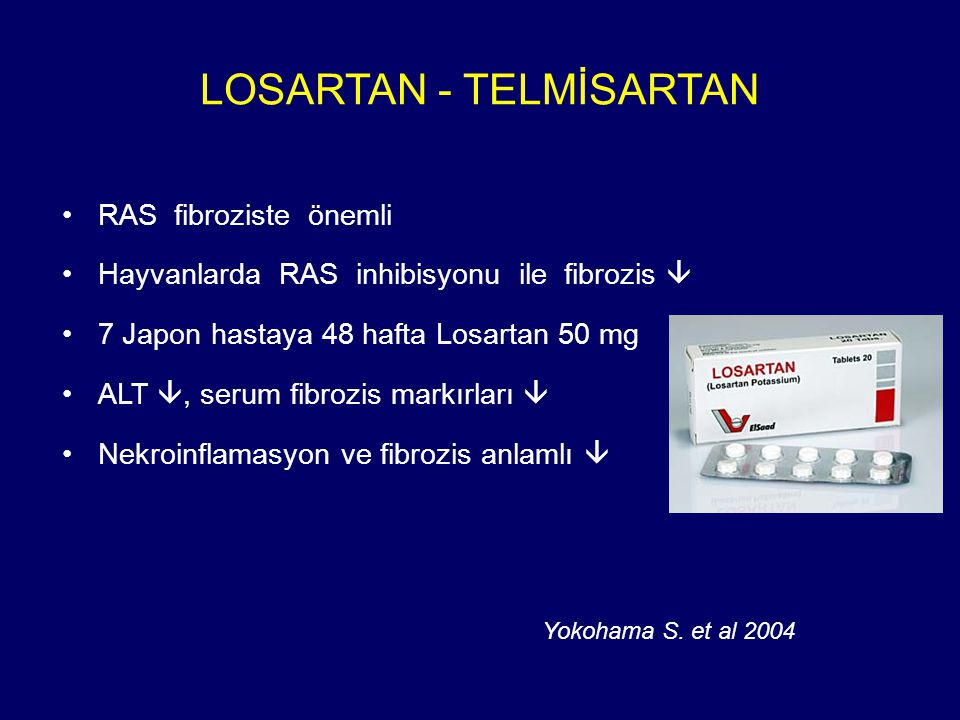 LOSARTAN - TELMİSARTAN