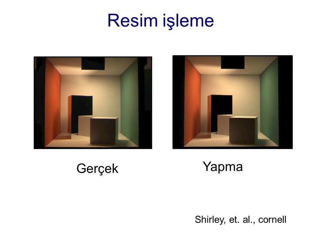 Resim işleme Yapma Gerçek Shirley, et. al., cornell