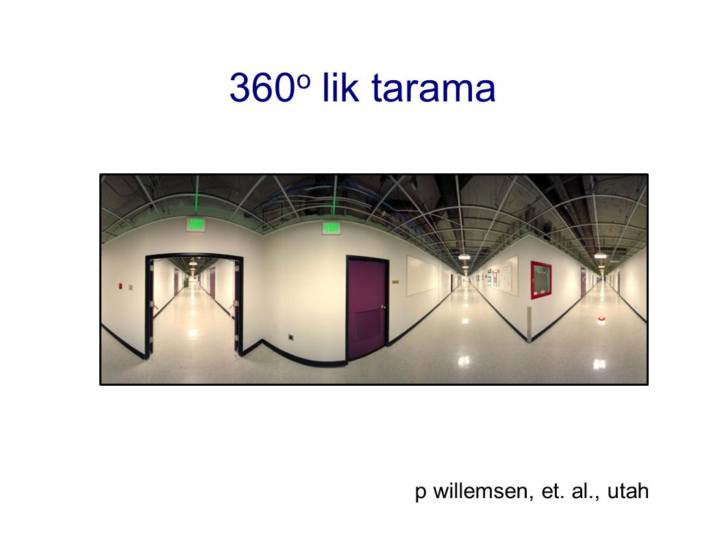 360o lik tarama p willemsen, et. al., utah