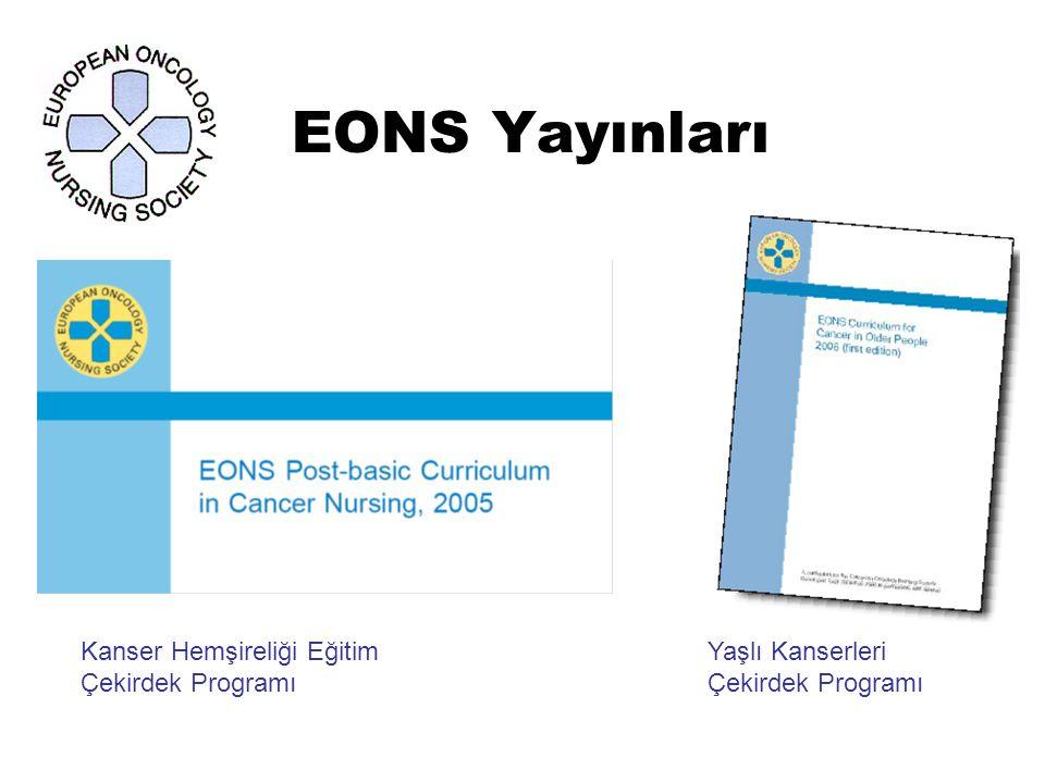 EONS Yayınları Kanser Hemşireliği Eğitim Yaşlı Kanserleri
