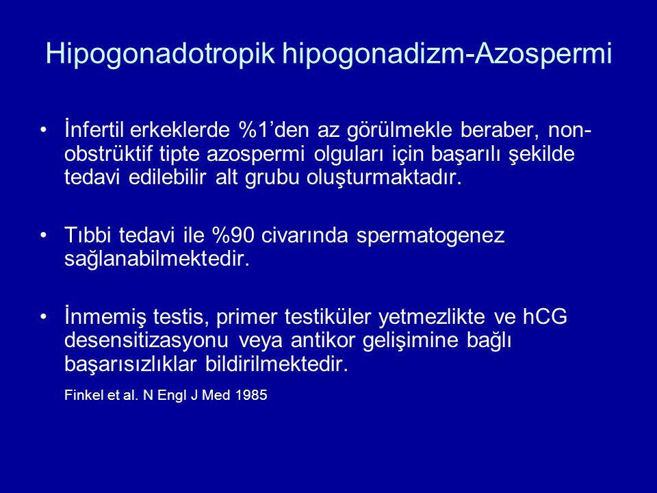 Hipogonadotropik hipogonadizm-Azospermi