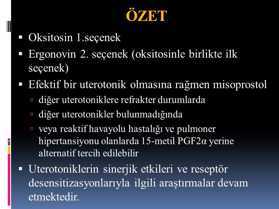 ÖZET Oksitosin 1.seçenek