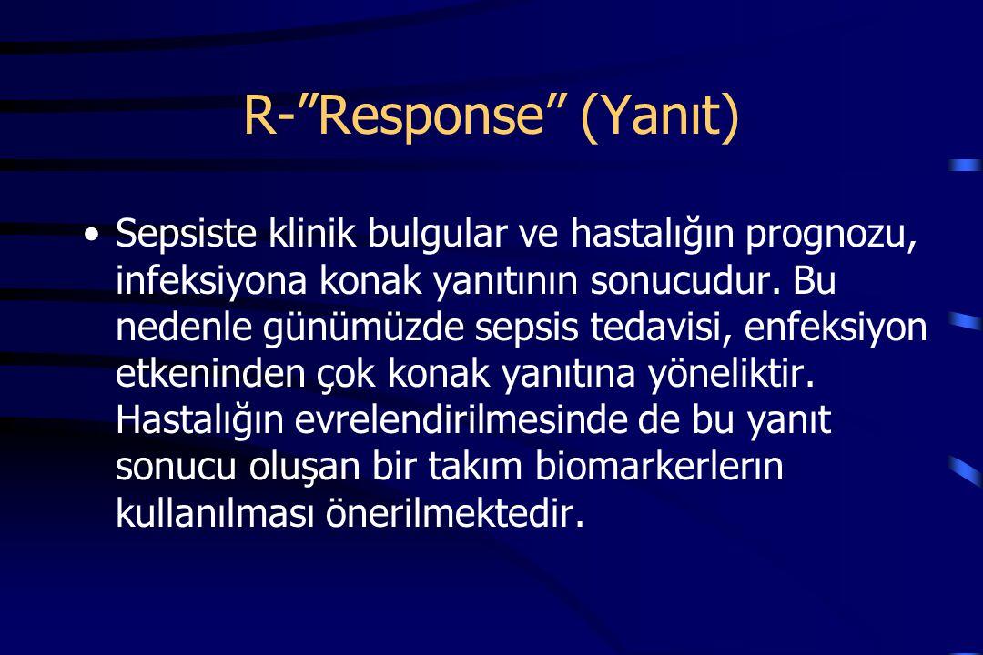 R- Response (Yanıt)