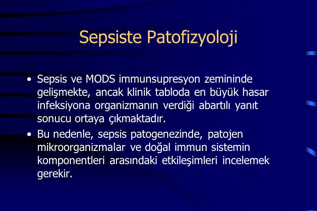 Sepsiste Patofizyoloji