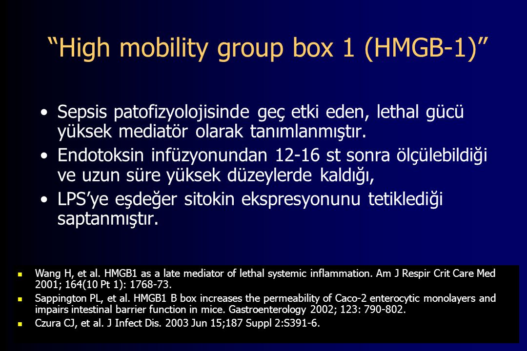 High mobility group box 1 (HMGB-1)
