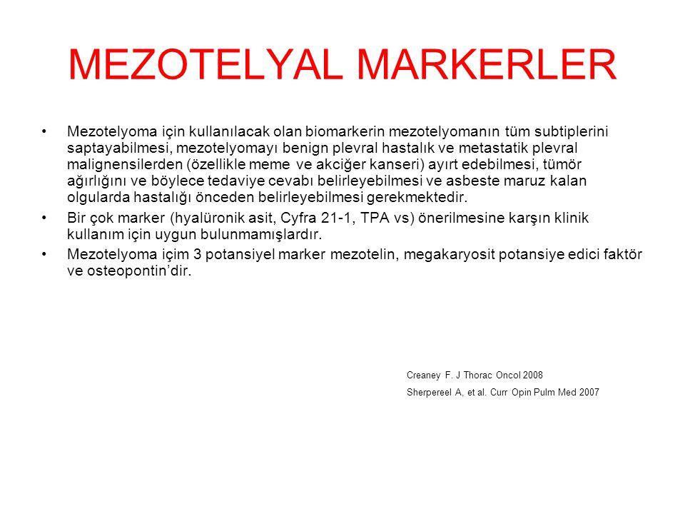 MEZOTELYAL MARKERLER