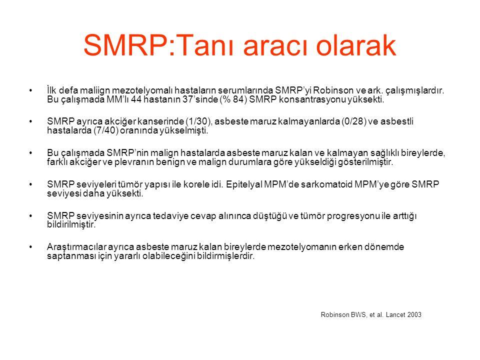 SMRP:Tanı aracı olarak