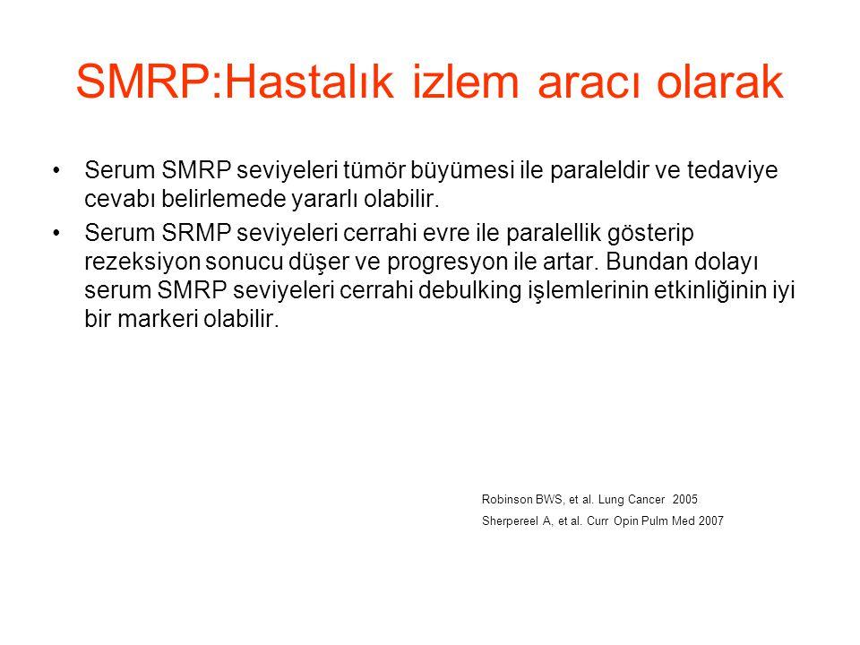 SMRP:Hastalık izlem aracı olarak