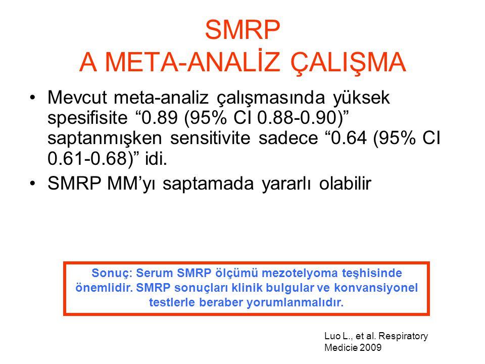 SMRP A META-ANALİZ ÇALIŞMA