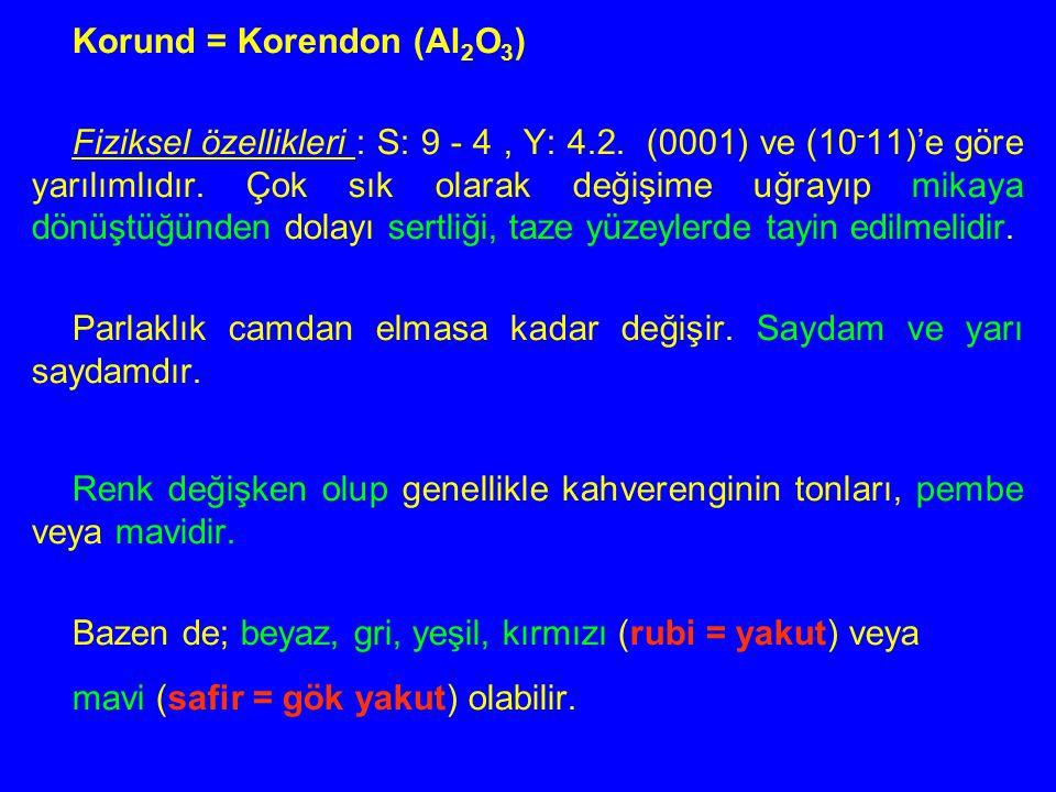 Mavi safirler: özellikleri, özellikleri ve özellikleri