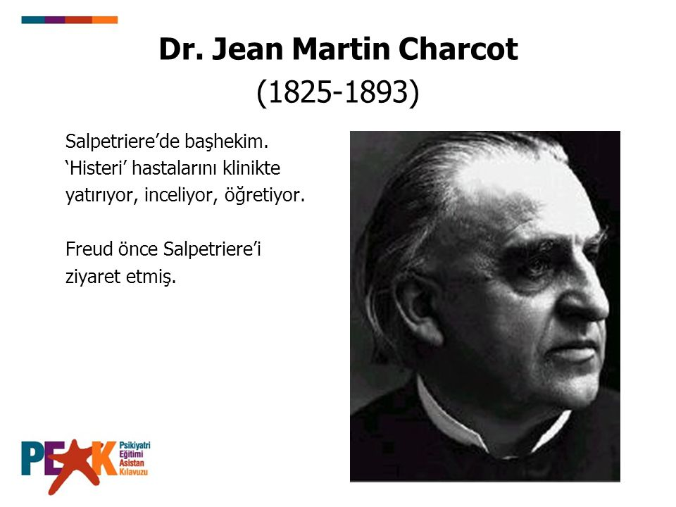 Dr. Jean Martin Charcot (1825-1893)