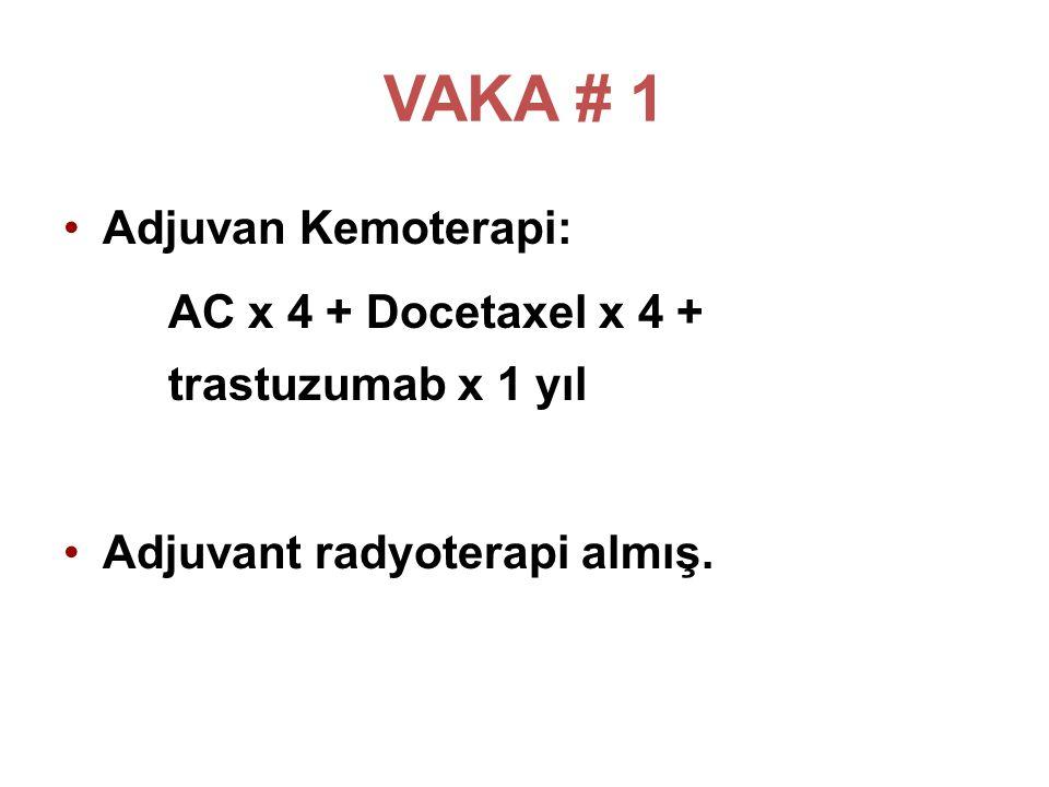 VAKA # 1 Adjuvan Kemoterapi:
