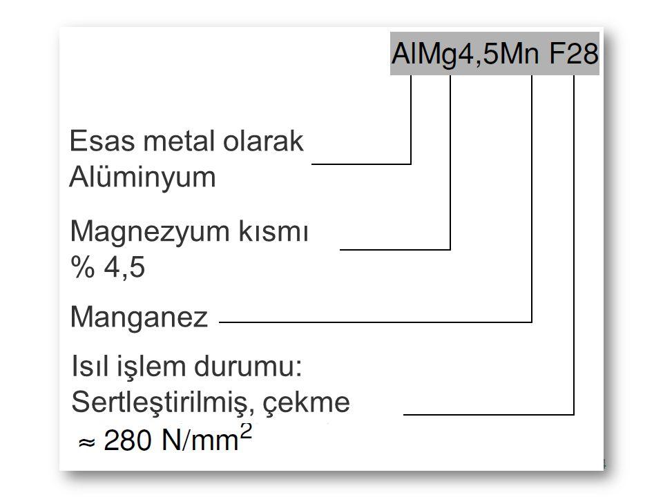 Esas metal olarak Alüminyum