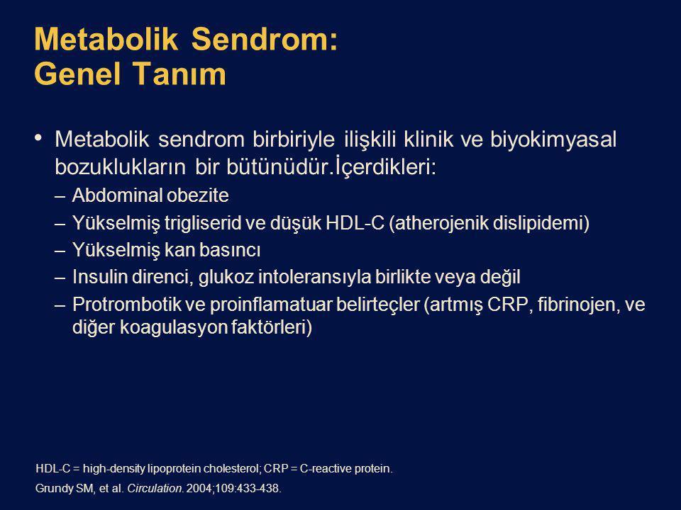 Metabolik Sendrom: Genel Tanım