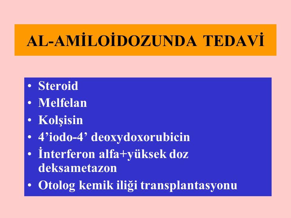 AL-AMİLOİDOZUNDA TEDAVİ