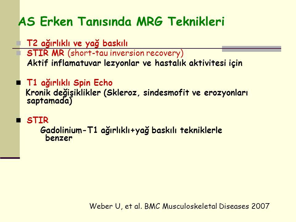 AS Erken Tanısında MRG Teknikleri