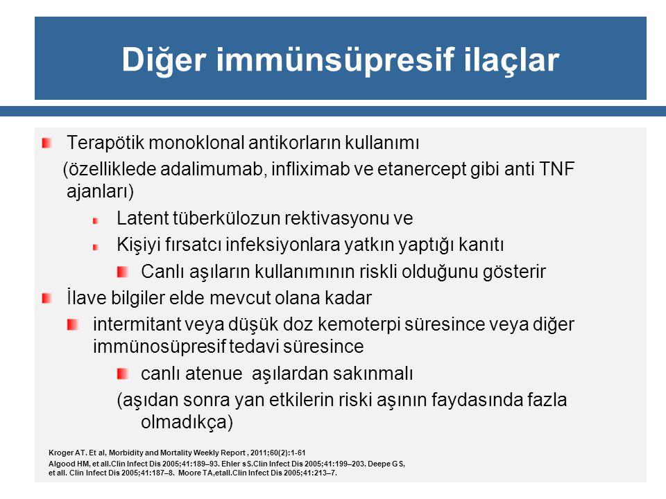 Diğer immünsüpresif ilaçlar
