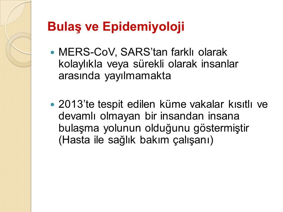 Bulaş ve Epidemiyoloji