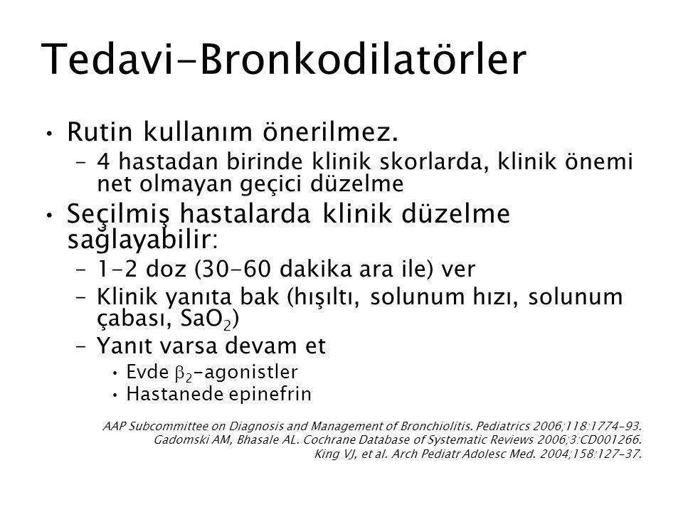 Tedavi-Bronkodilatörler