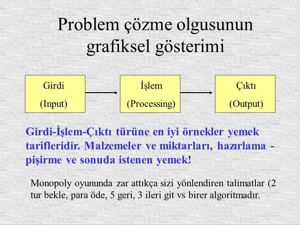 Problem çözme olgusunun grafiksel gösterimi