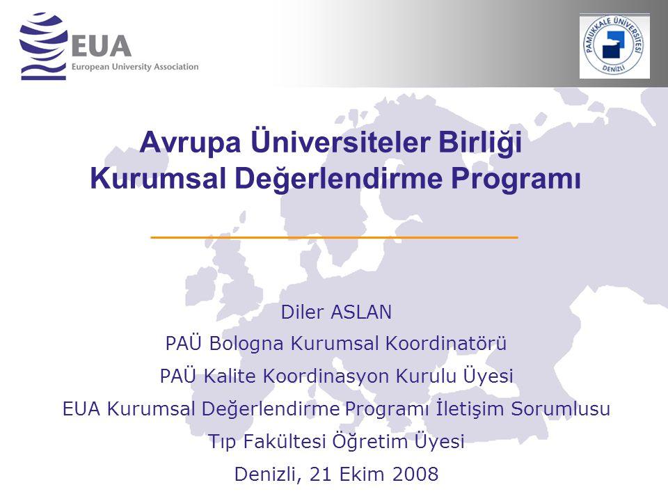 Avrupa Üniversiteler Birliği Kurumsal Değerlendirme Programı