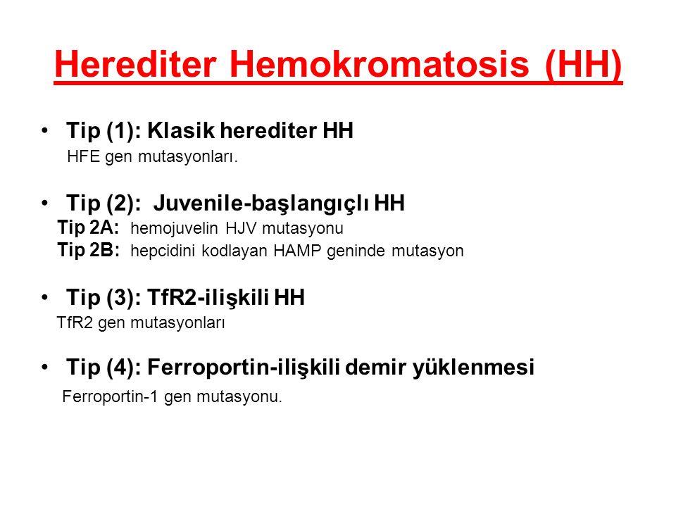 Herediter Hemokromatosis (HH)