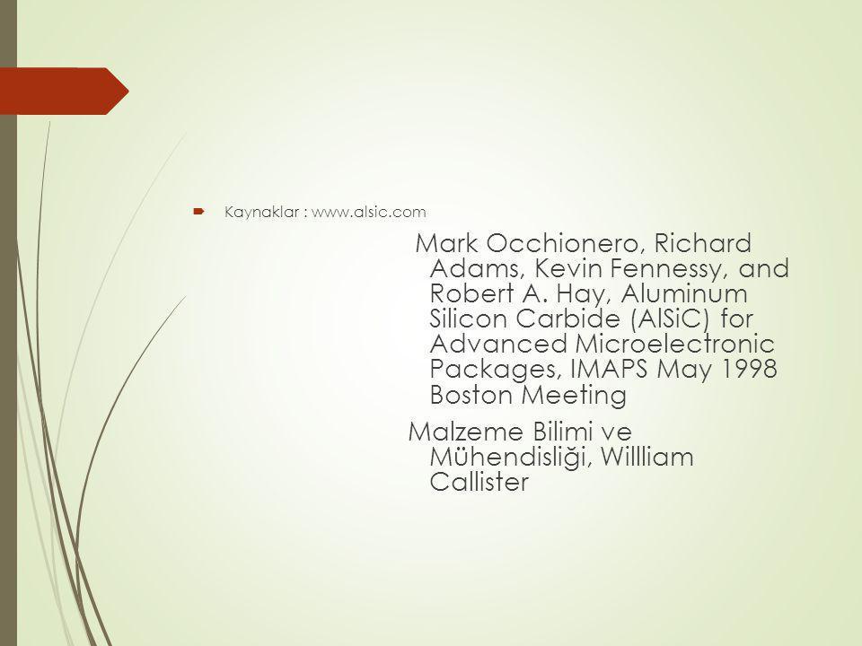 Malzeme Bilimi ve Mühendisliği, Willliam Callister