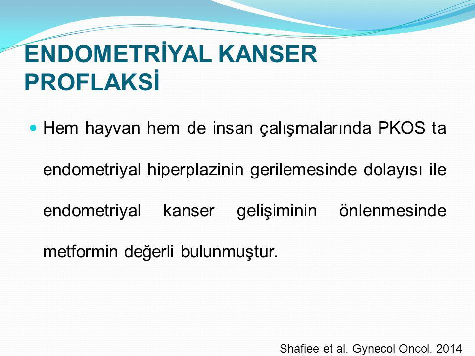 ENDOMETRİYAL KANSER PROFLAKSİ