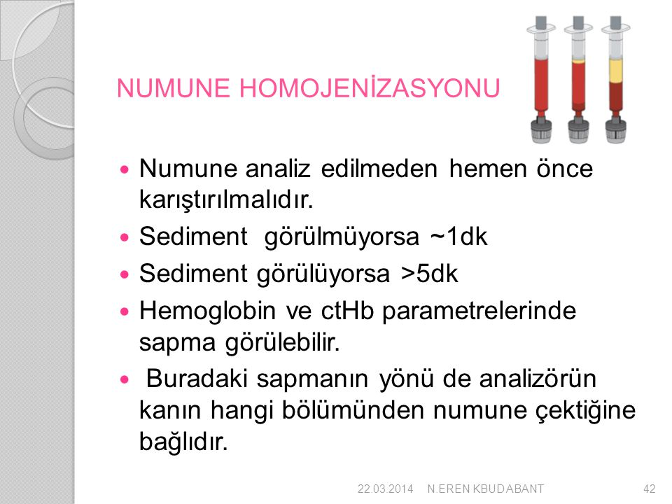 NUMUNE HOMOJENİZASYONU