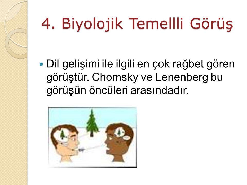 4. Biyolojik Temellli Görüş