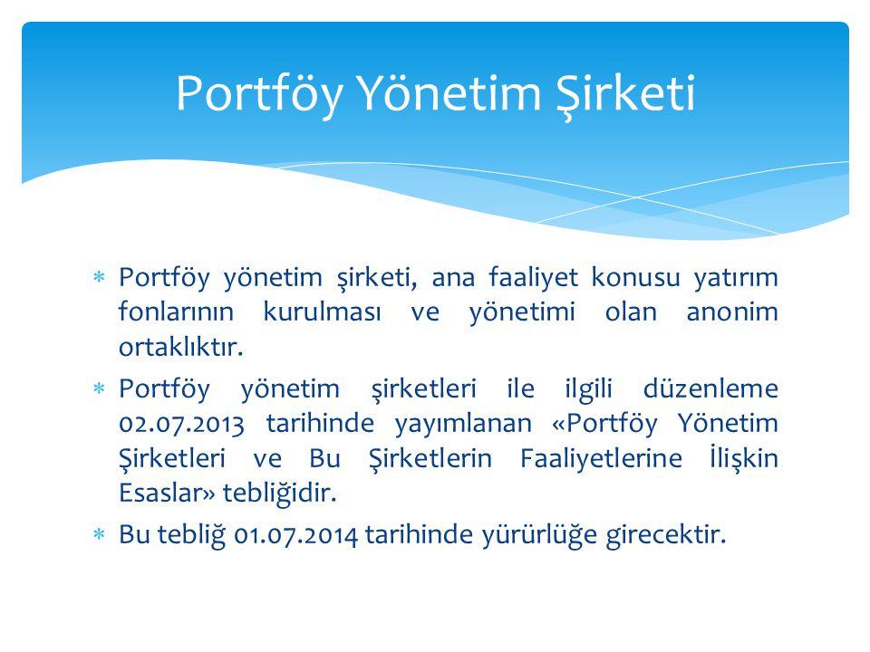 Portföy Yönetim Şirketi