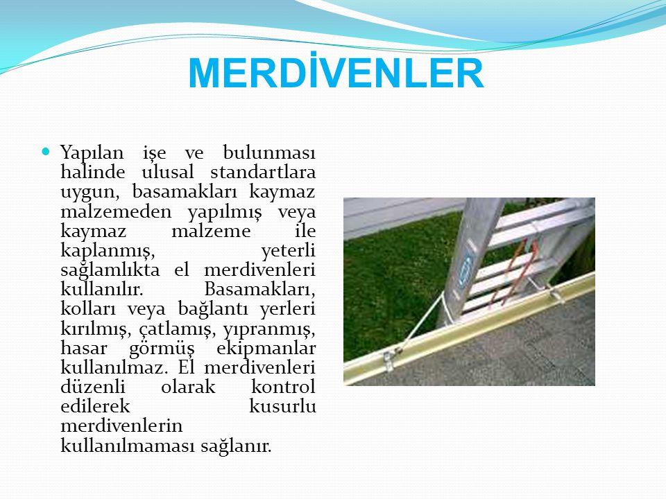MERDİVENLER