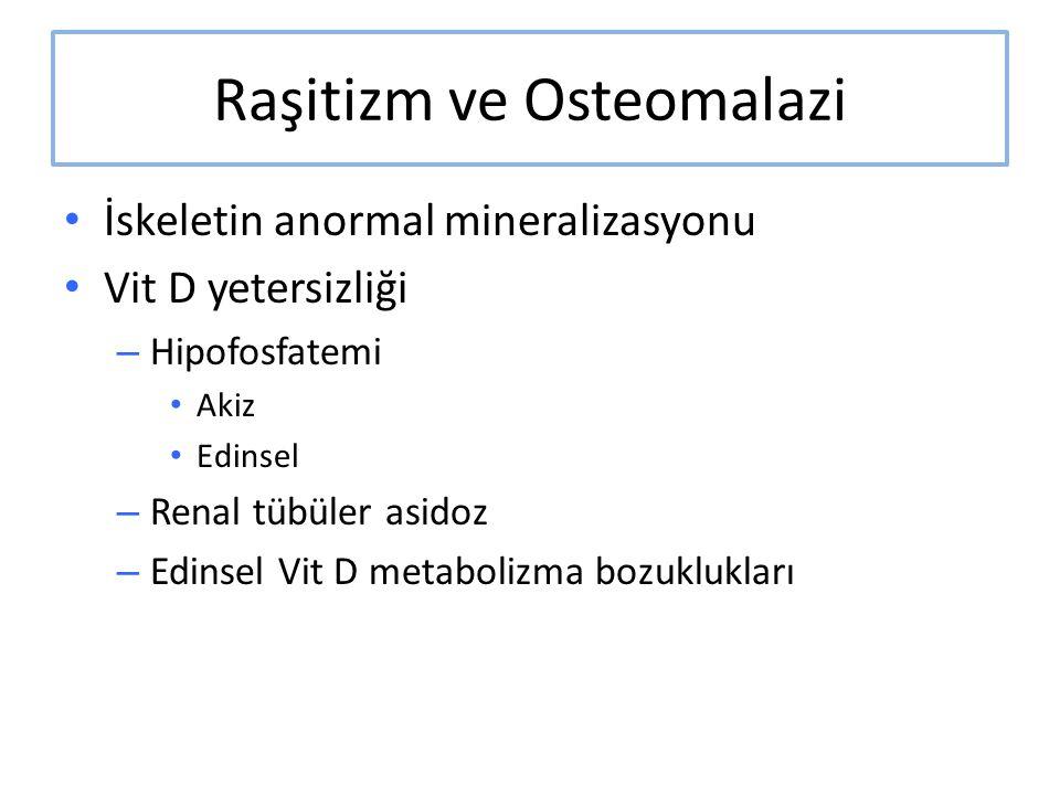 Raşitizm ve Osteomalazi