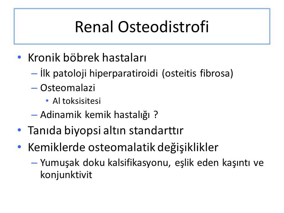 Renal Osteodistrofi Kronik böbrek hastaları