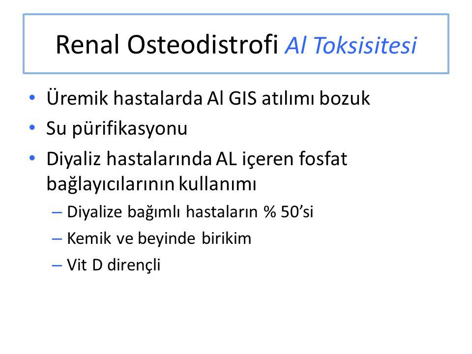Renal Osteodistrofi Al Toksisitesi