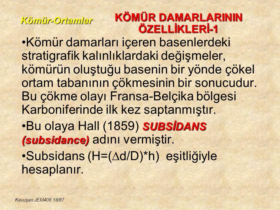 KÖMÜR DAMARLARININ ÖZELLİKLERİ-1