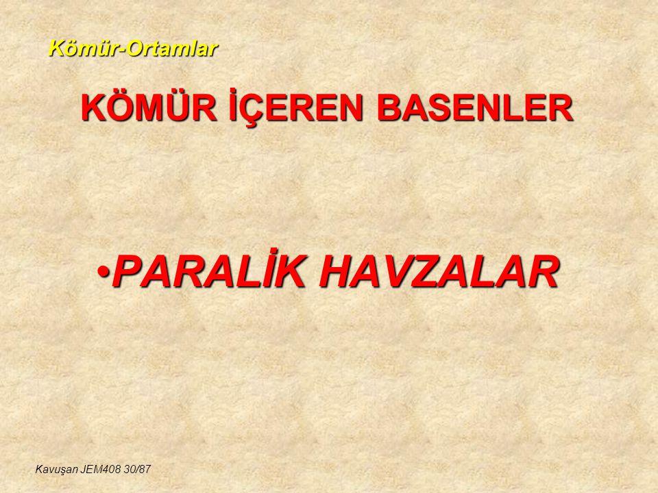 KÖMÜR İÇEREN BASENLER PARALİK HAVZALAR