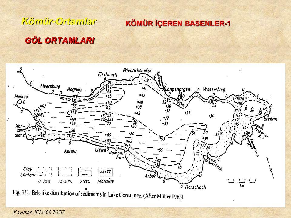 Kömür-Ortamlar GÖL ORTAMLARI KÖMÜR İÇEREN BASENLER-1
