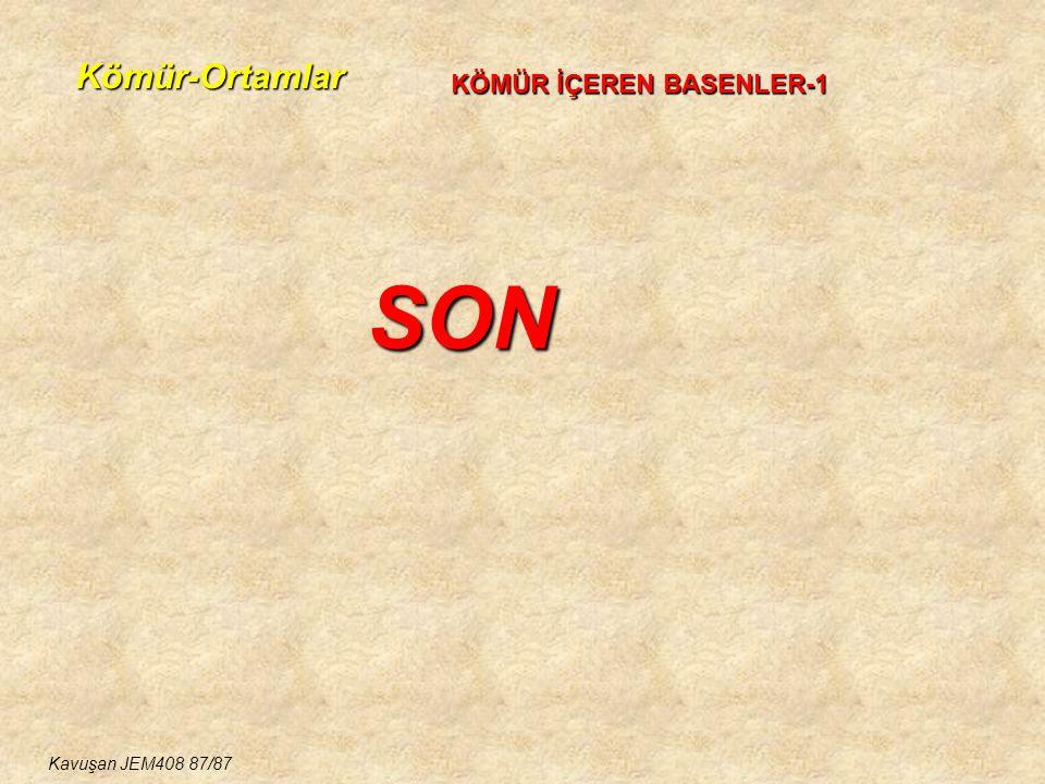 Kömür-Ortamlar KÖMÜR İÇEREN BASENLER-1 SON Kavuşan JEM408 87/87