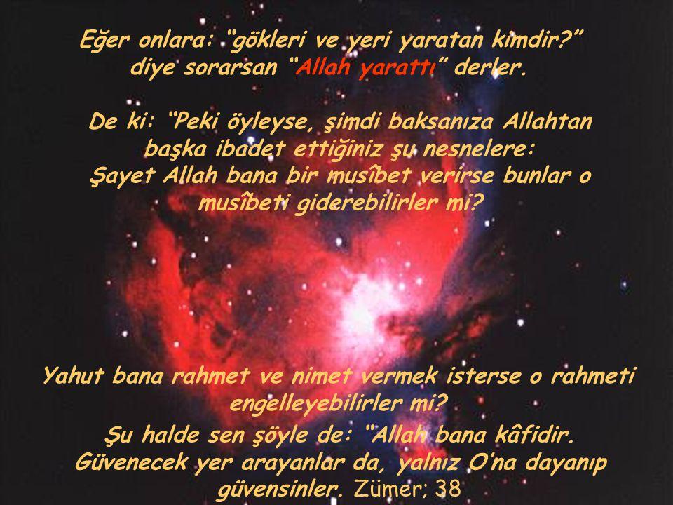 Şu halde sen şöyle de: Allah bana kâfidir.